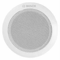 White Bosch LCZ-UM06-IN Compact Ceiling Speaker, 6W, Metal