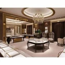 Jewellery Showroom Interior Designing Service