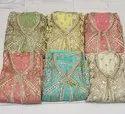 Chiffon Pakistani Embroidered Suit, Handwash