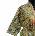 Screen Print Kimono Robe