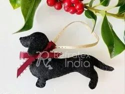 Fancy  Felt Christmas Ornaments