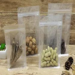 Transparent Eight Side Seal Bags