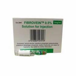 Fibrovein 0.5% Injection.