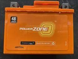 Capacity: 3 Ah 2W Powerzone Bike Battery, PZ-48PZTZ4L