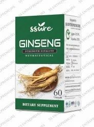 Ginseng Root Softgel Capsule 500mg