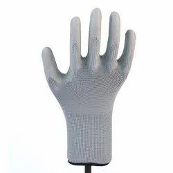 Polyurethane Coated Grey Gloves