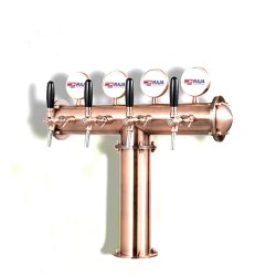 T Beer Tower Copper  finish 4way
