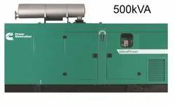 Three Phase 500kVA Used Cummins Diesel Generator