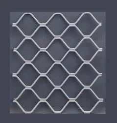 Exterior Square Aluminium Window Grill