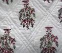 Cotton Handblock Printed Quilt