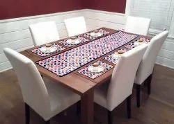 Diamond Printed PVC Dining Table Mat