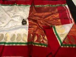 6.30 Meter Festive Wear Ladies Banarasi Silk Sarees, With Blouse Piece