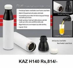 Pearl Double Cap Vacuum Bottle