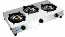SRIHIND Aluminum Flame 103 Gas Stove, For Kitchen, Model Name/Number: Trglr 3b