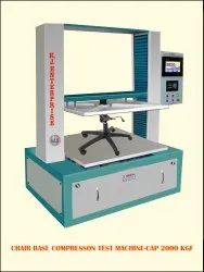 Chair Base Compression Test Machine