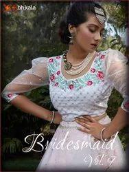 Shubhkala Bridesmaid Vol 9 Exclusive Desinger Net Lehenga Choli Catalog