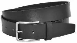 Black Leather BFL1001 Mens Formal Belt