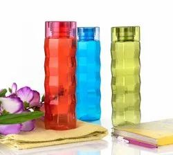 Unbranded Assorted Plastic water bottle 3 pc set, For Anywhere, Capacity: 1000 Ml