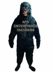 FUR FREE Gorilla Monkey Dress For College