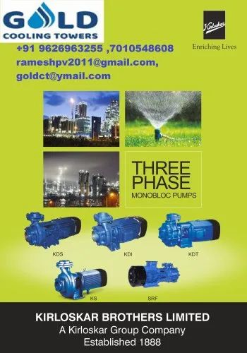 Industrial Cooling Tower Pumps