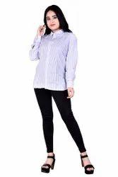Printed Western Wear Formal Casual Ladies Shirt