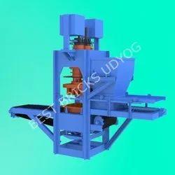 8 Cavity Semi Automatic Fly Ash Bricks Making Machine