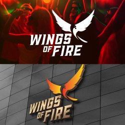 Wings Of Fire Logo Design