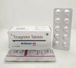 Brilticar 90 ( Ticagrelor 90 Mg Tablets )