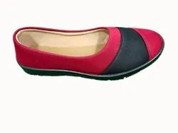 Slip On Black,Red Ladies Casual Belly, Size: 7