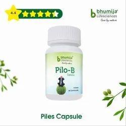 Pilo-B Herbal Capsules