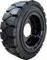 Solid Tyre and Wheel Assembly