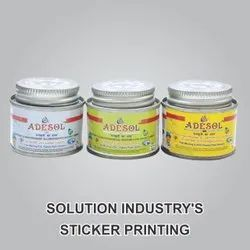 Solution Industry Sticker Printing Service