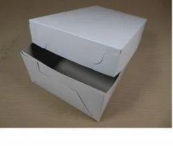 Plain White Packaging Box, 10x10x15 Inch