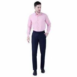 Trendsetter Regular Fit Polyester Blend Men Trousers - Formal Trousers For Men's 7061