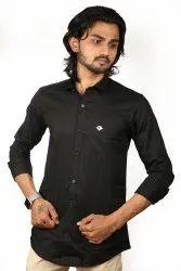 Mens Plain Cotton Shirts
