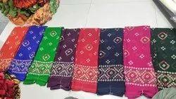 Formal Wear Chunri Printed Saree, 6 m (with blouse piece)