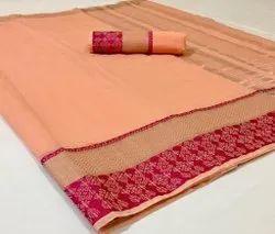 Present New Designing Malmal Cotton Good Looking Saree