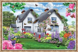 Ceramic Canvas Poster Vitrified Tiles, For Home, Thickness: 2 x 4 Inch
