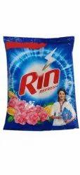 Rose,Lemon Rin Refresh Detergent Powder, For Laundry, 1 Kg