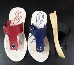 Girls Pu Slippers