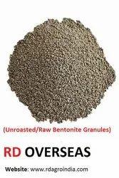 Raw Bentonite Granule