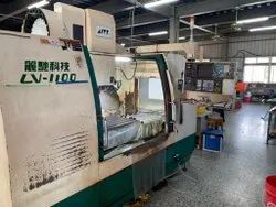 Used And Old Make LITIZ LV-1100 CNC Vertical Machine Center Model 2003