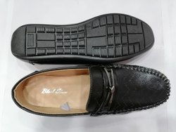 Black Men's Casual Slip-on Loafer Dress Shoes Moccasin Driving Shoes