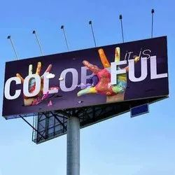 Outdoor Acrylic Hoarding, For Advertising