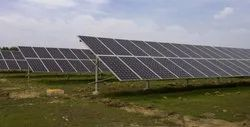Gi Solar Panel Mounting Structure