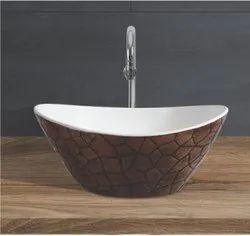 Designer Oval Ceramic Wash Basin