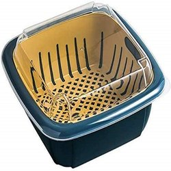 2 In 1 Multi Function Filter Basket Bowl Set