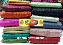 Polyester Tapeta new checks