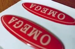 Vinyl Dome Sticker, Packaging Type: Packet