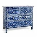 Majestic Bone Inlay Chest Of Drawers